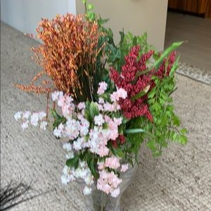 Other - Silk faux flowers arrangement